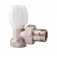 Угловой ручной вентиль простой регулировки ICMA арт.803