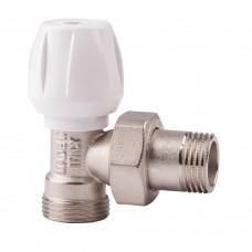 Угловой ручной вентиль простой регулировки ICMA арт.826
